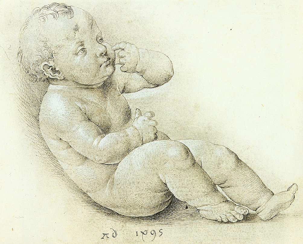 Albrecht Dürer, Studie dítěte - Krista