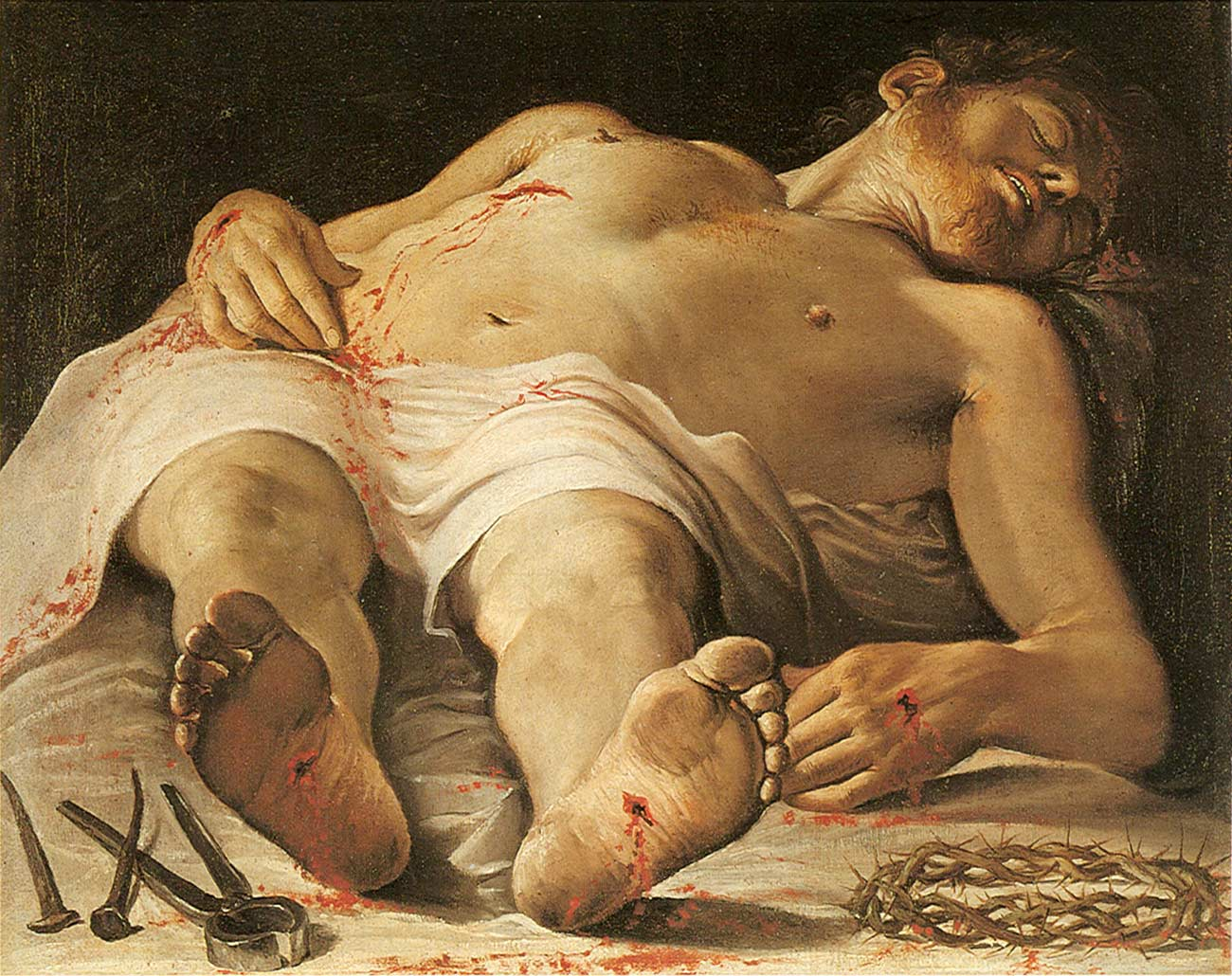 Annibale Carracci - Dead Christ
