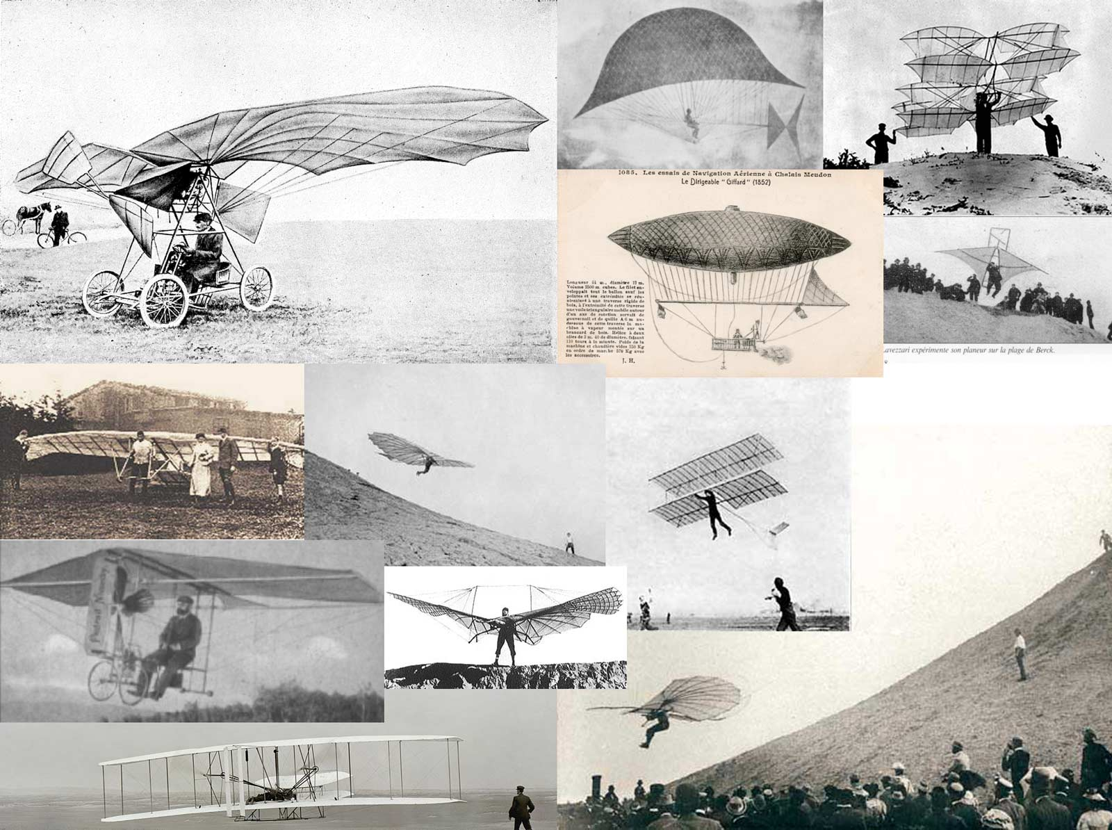 Early flying machines