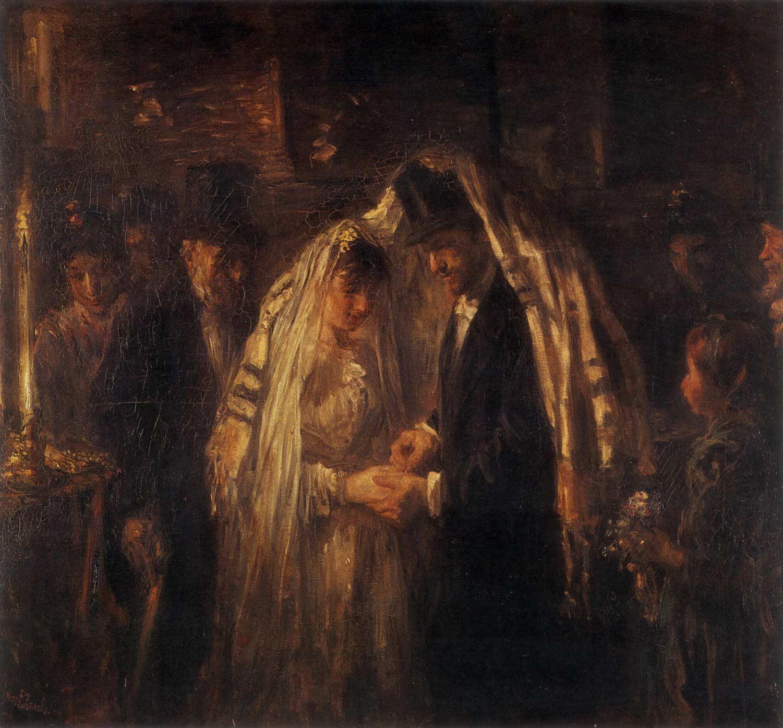 Josef Israëls, Židovská svatba, 1903