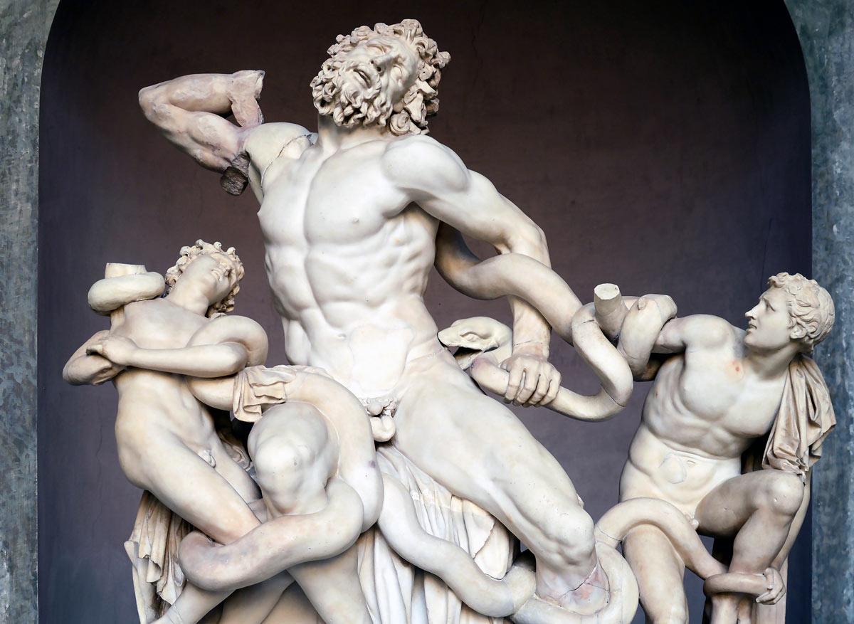 Láokoón a jeho synové