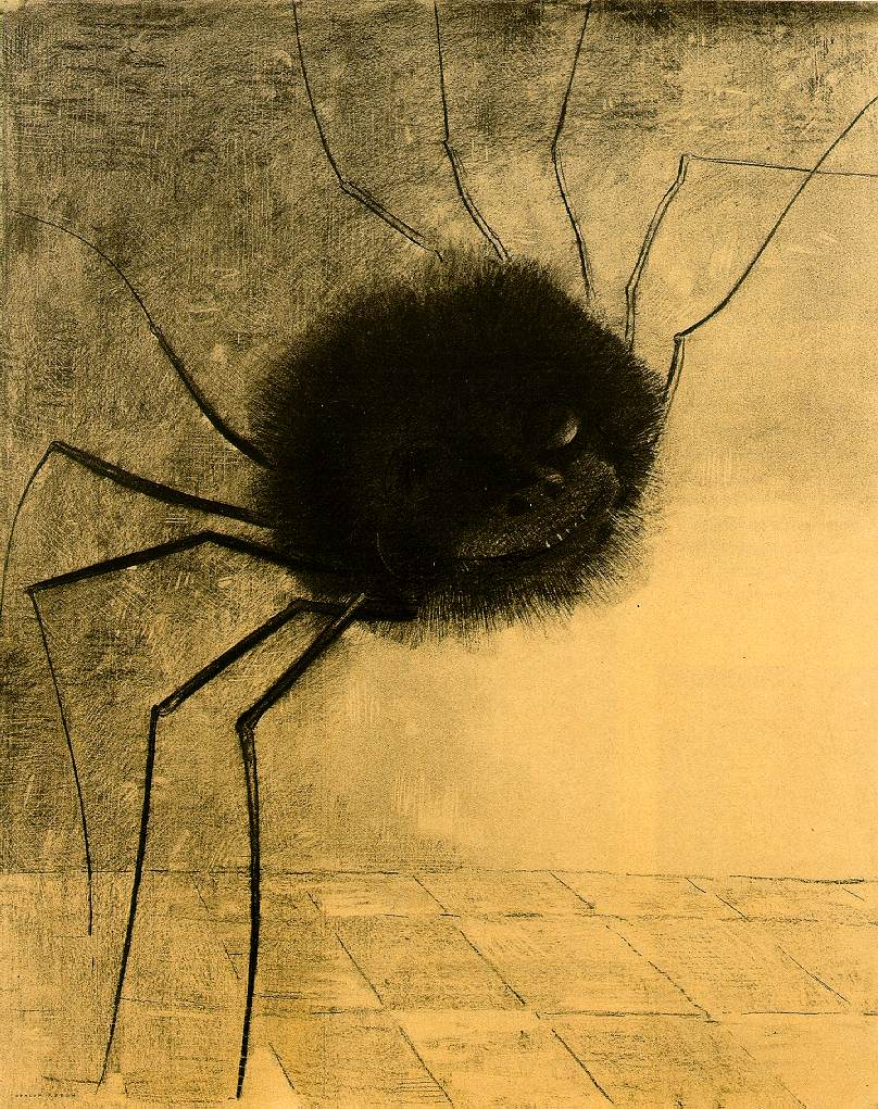 Odilon Redon, The Smiling Spider, 1891