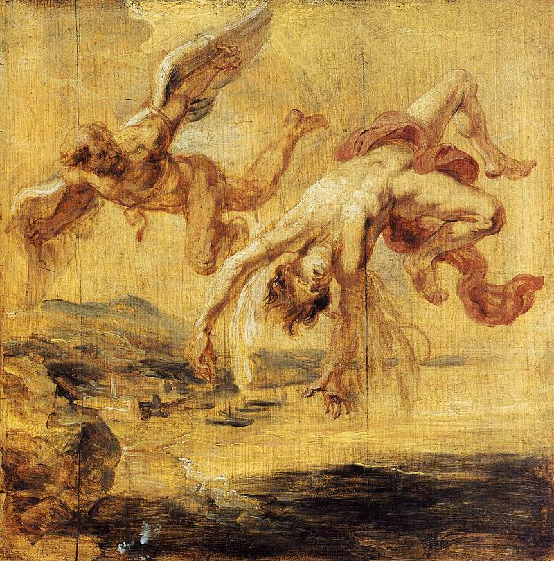 Peter Paul Rubens, The Fall Of Icarus